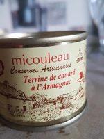 Terrine de canard à l'armagnac - Produit - fr