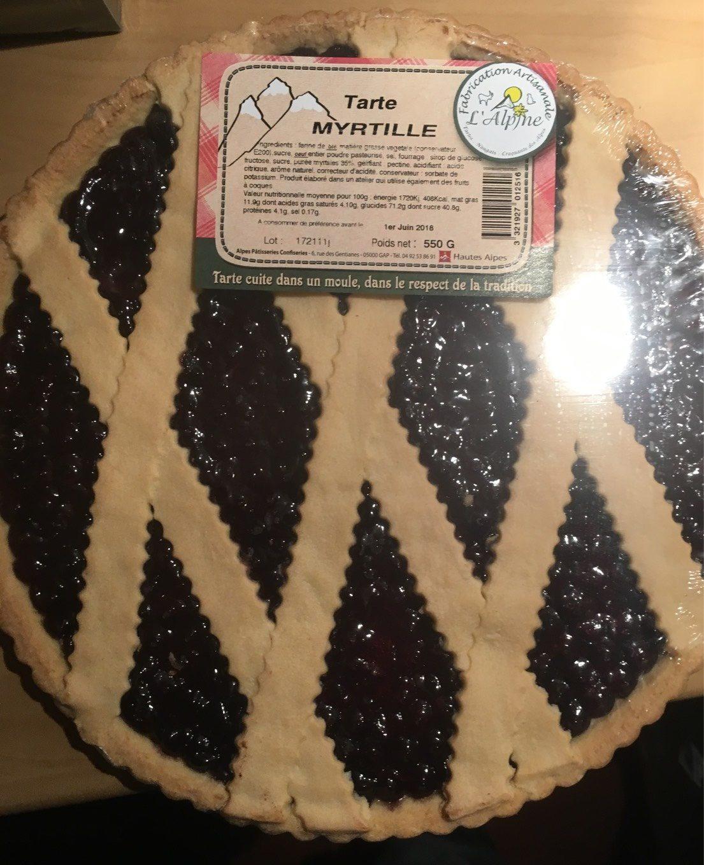 Tarte myrtille - Produit - fr