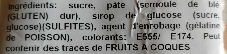 Perles nacrées n 6 - Ingrédients - fr