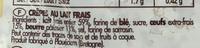 12 Crêpes de Landerneau - Ingrédients - fr