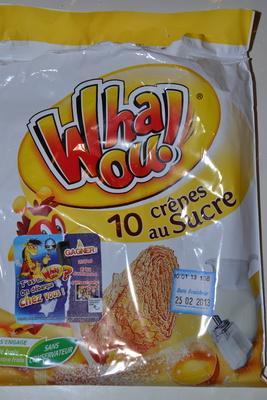 Crêpes au sucre Whaou! - Product