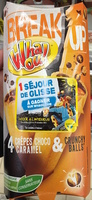 Break Up 4 crêpes Choco Caramel & Crunchy Balls - Produit - fr