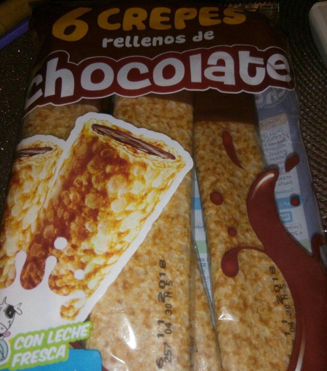 Crêpes fourrées chocolat - Producto - fr