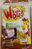 crêpes goût choco-noisette - Product
