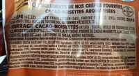 crêpes goût choco-noisette - Ingrediënten