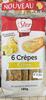 6 Crêpes Citron Lemon Curd -