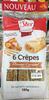 6 Crêpes Pomme-Caramel façon Tatin -