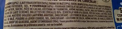 Cracky Billes de Céréales 8 Crêpes Chocolat au lait - Ingredienti - fr