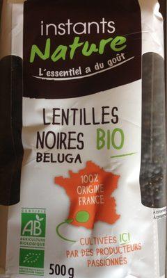 Lentilles noires beluga - Product - fr