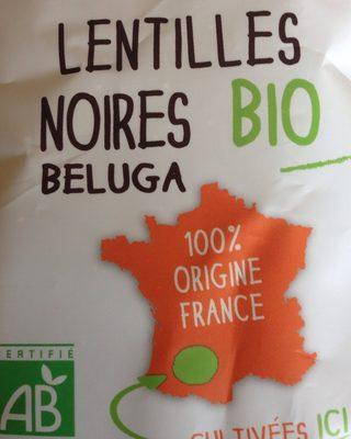 Lentilles noires beluga - Ingrediënten - fr