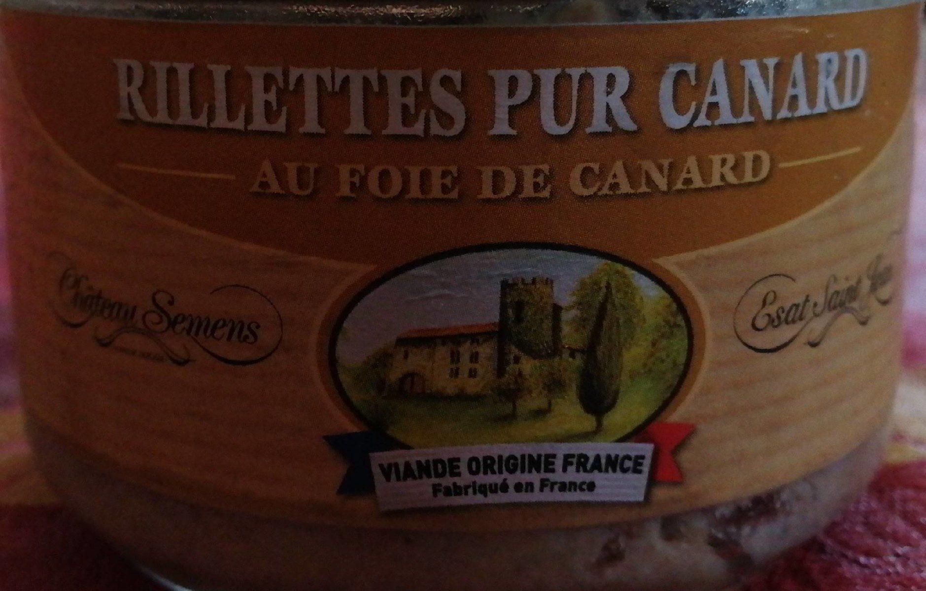 Rillettes Pur Canard au Foie de Canard - Produit - fr