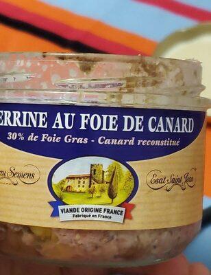 Terrine au foie de canard - Produit