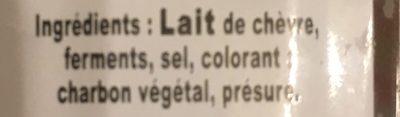 Sainte Maure de Touraine - Ingredients