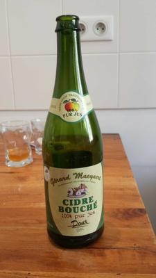 Cidre bouché doux - Produit - fr