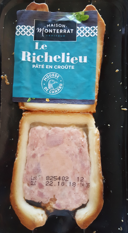 Pâté En Croûte Richelieu 2 Tranches - Produit - fr