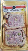 Pâté en croûte aux pistaches - Produit - fr