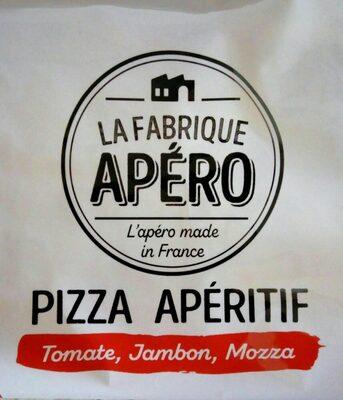 Pizza apéritif tomate, jambon, mozza - Product - fr