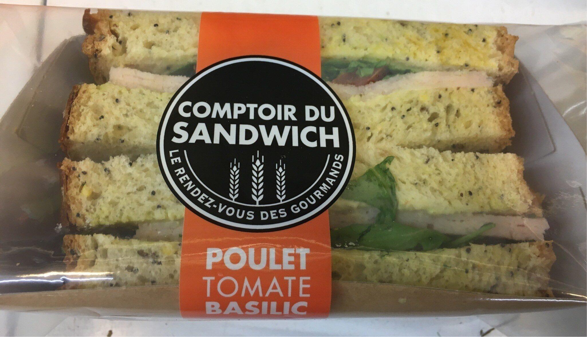 Comptoir du Sandwich Poulet Tomate Basilic - Product - fr