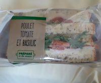 Sandwich poulet tomate basilic - Product - fr