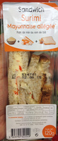 Sandwich Surimi Mayonnaise allégée - Produit - fr
