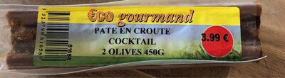 Pâté en croûte cocktail 2 olives - Product