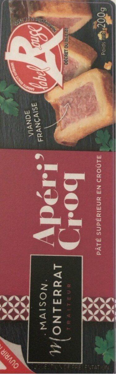 Apéri'croq mini 200g Label Rouge - Product - fr
