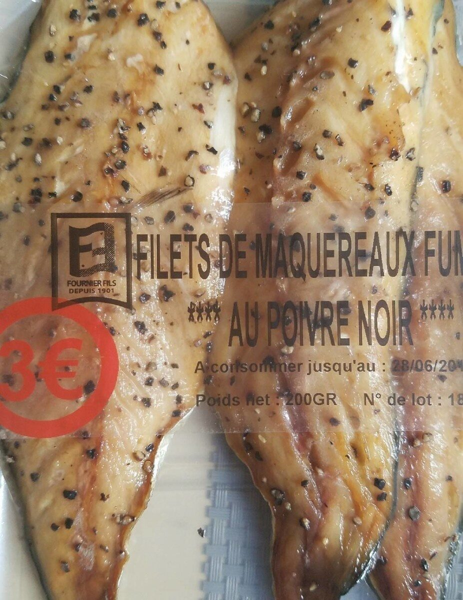 Filets de maquereaux fumés au poivre noir - Prodotto - fr