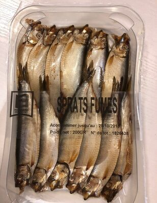 Sprats fumes - Product - fr