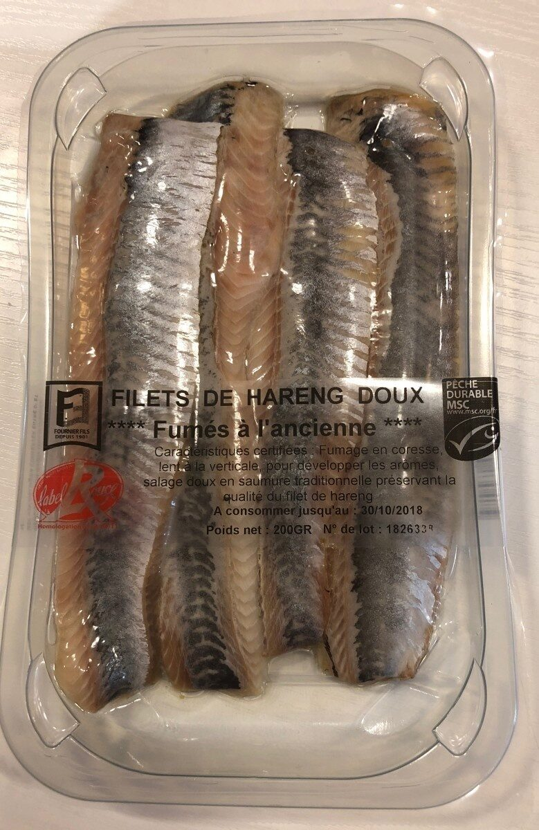 Filets de Hareng Doux Label Rouge - Produit - fr