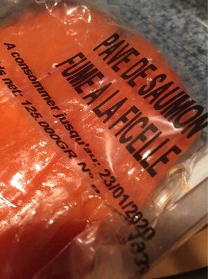 Pavé de saumon fumé à la ficelle - Product - fr