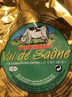 Val De Saone Camembert - Produit - fr