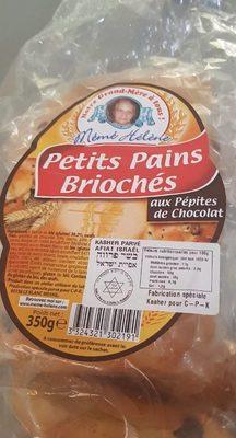 Petits Pains Briochés aux pépites de chocolat - Product - fr