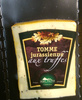 Tomme jurassienne aux truffes - Product
