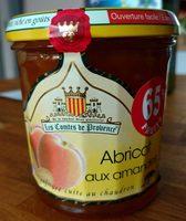 Confiture abricots aux amandes - Produit - fr