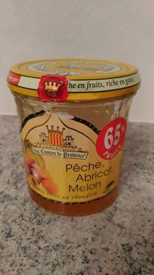 Confiture Pêche, Abricot, Melon - Product