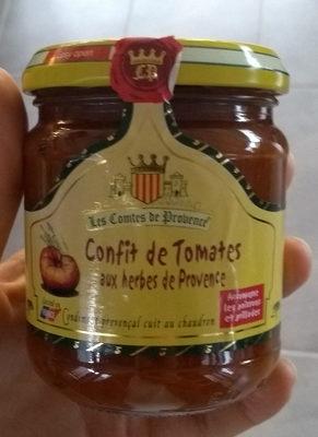 Confit de tomates aux herbes de Provence - Product