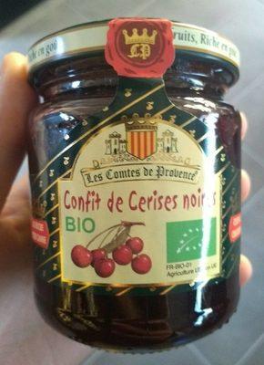 Confit de cerises noires - Product - fr