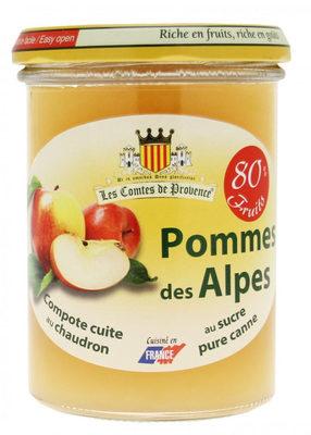 Compote de pommes des Alpes - Product