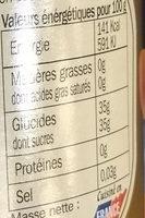 Compote de pommes des Alpes - Voedingswaarden