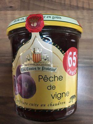 Confiture Peche de vignes - Product