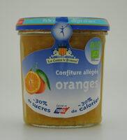 Confiture allégée oranges - Product