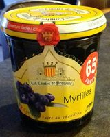 Confiture de myrtilles - Product