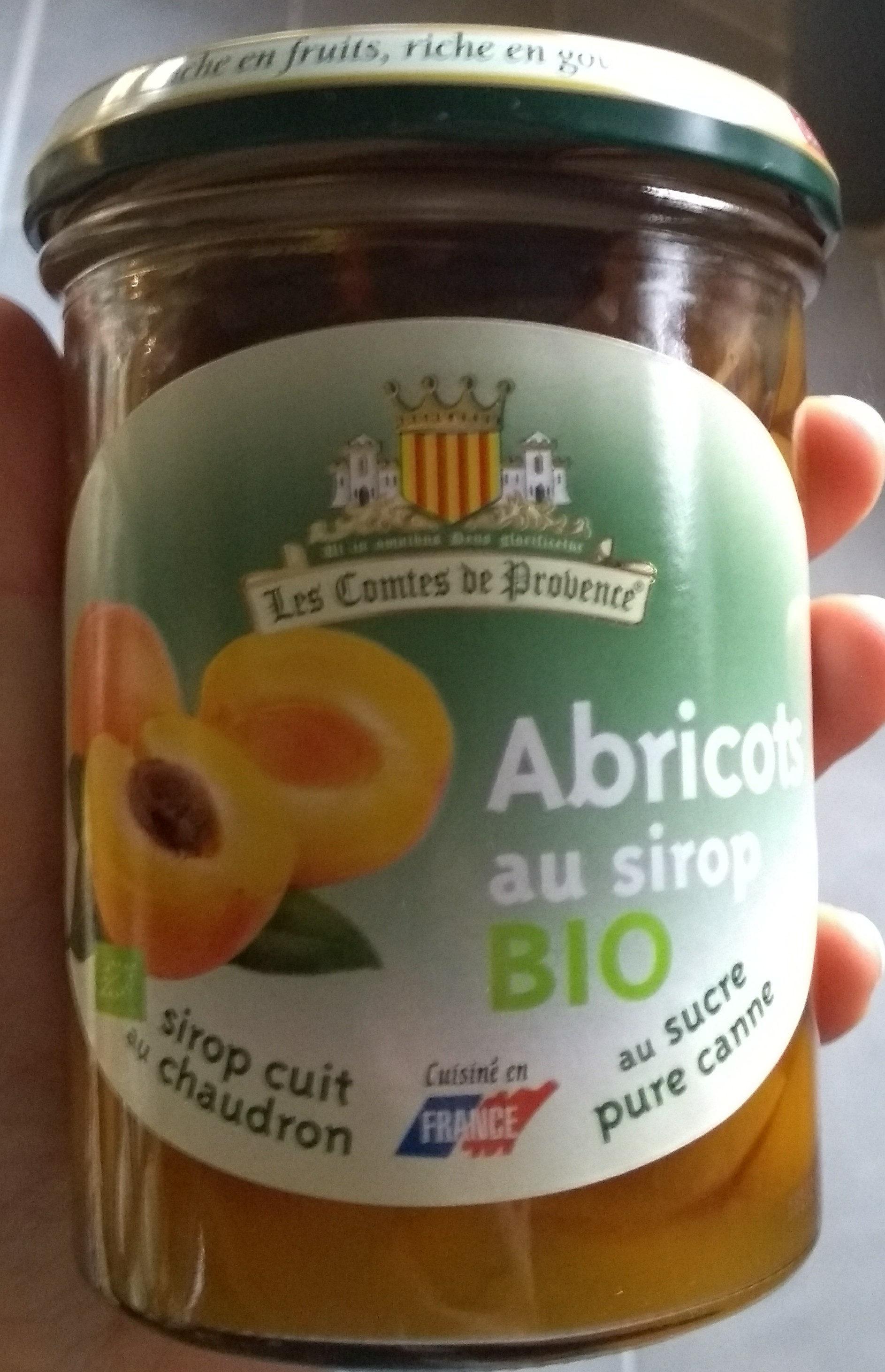 Abricot au sirop - Product