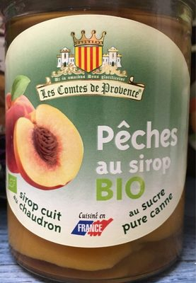 Pêches au sirop - Product