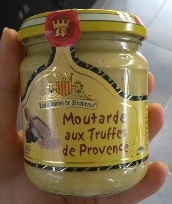 Moutarde aux truffes de Provence - Product