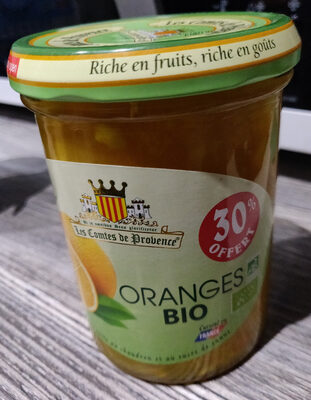 Confiture d'oranges bio - Product - fr