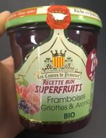 Confiture aux Superfruits Framboise, Griotte & Aronia - Product