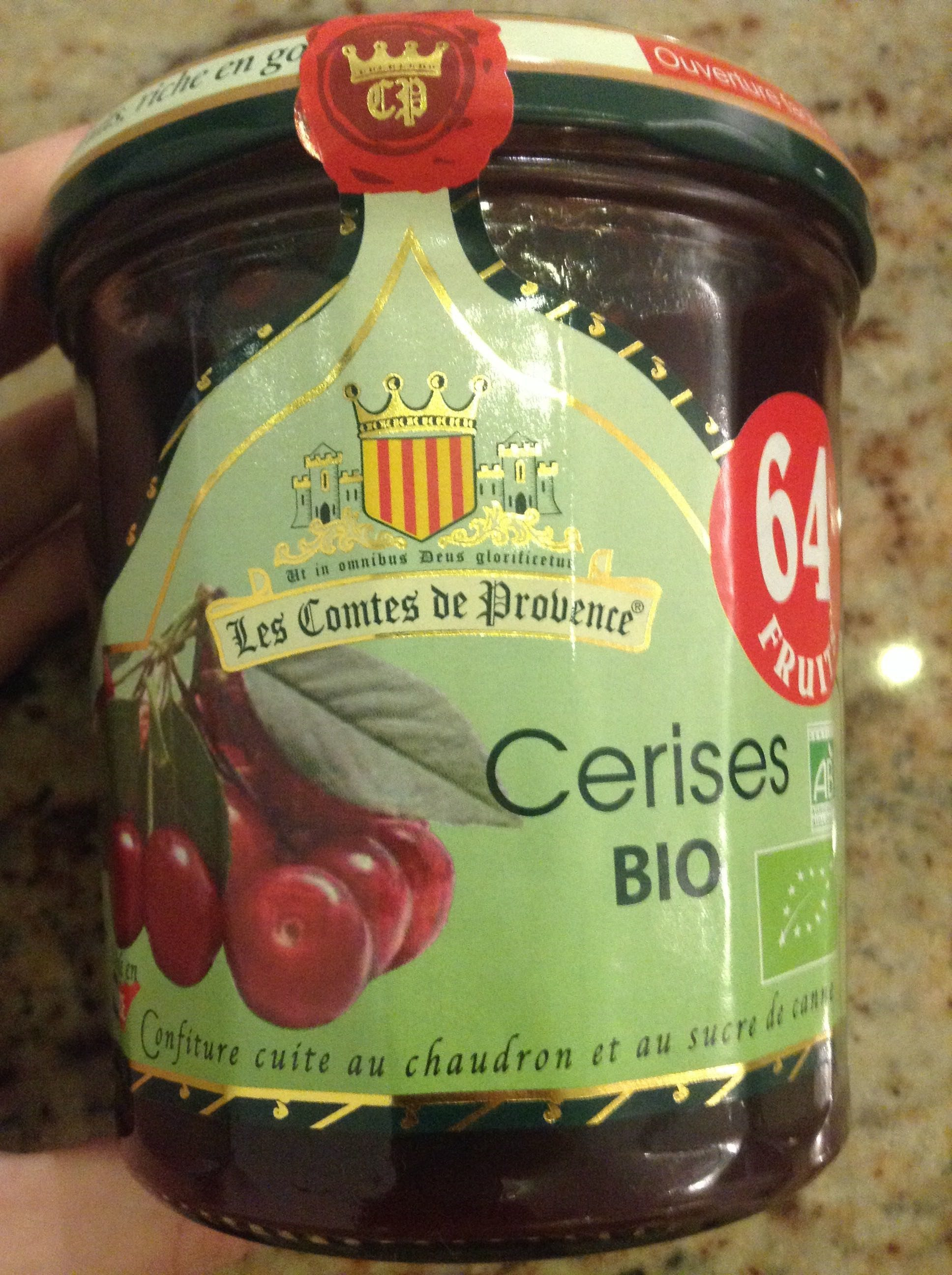 Confiture De Cerise Bio - Product - fr