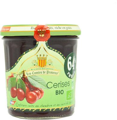 Confiture de Cerises BIO 350g - Produit - fr