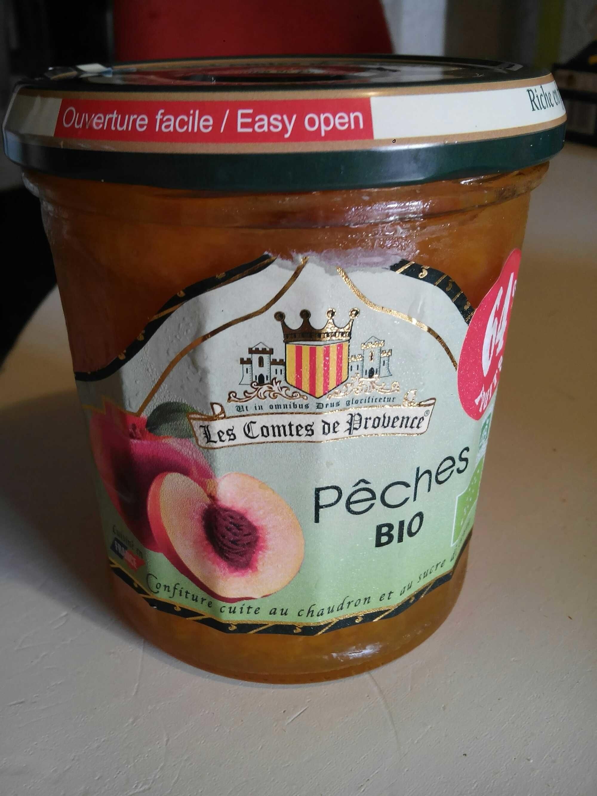 Confiture Peche Bio - Product - fr